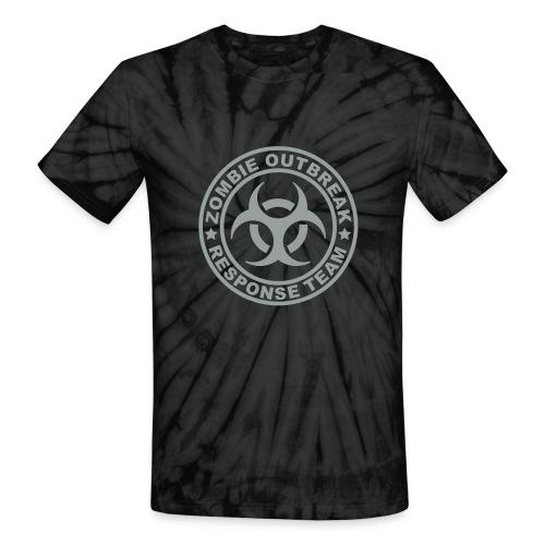 Zombie - Unisex Tie Dye T-Shirt