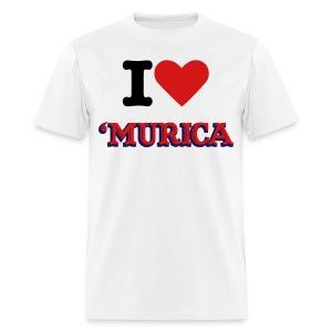 I love murica tee - Men's T-Shirt