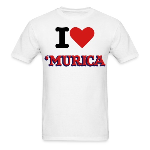 I love murica tee - Men's T-Shirt