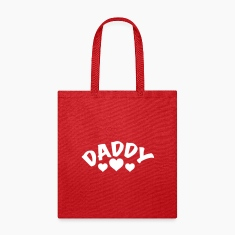 Daddy / I love my Daddy / Dad 1c Bags & backpacks