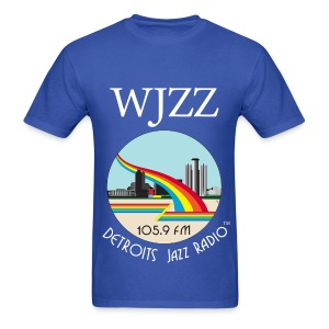 ON SALE!  WJZZ white logo - Kind of Blue - Men's T-Shirt