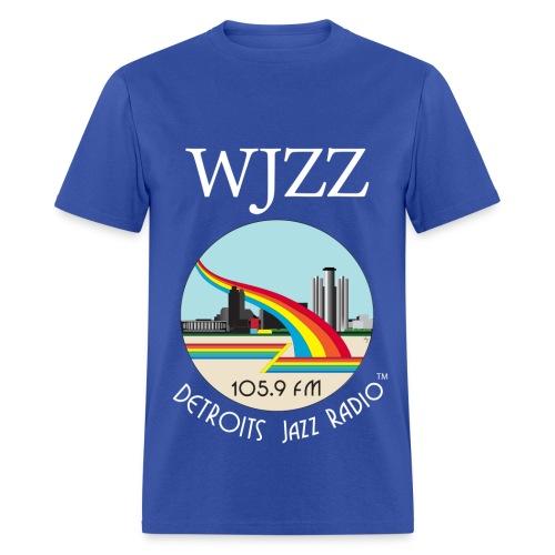 ON SALE!  WJZZ white logo - Kind of Blue - Men's T-Shirt