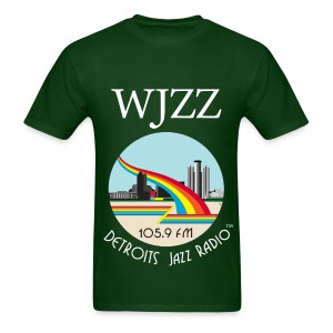 ON SALE! WJZZ white logo - Grant Green - Men's T-Shirt