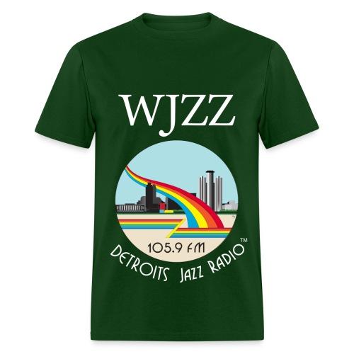 ON SALE! WJZZ white logo - Grant Green - Men's T-Shirt