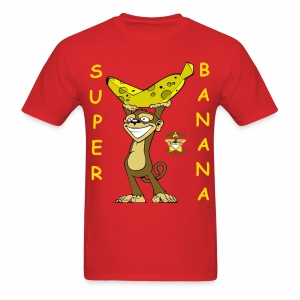 Monkey Pickles Super Banana - Men's T-Shirt