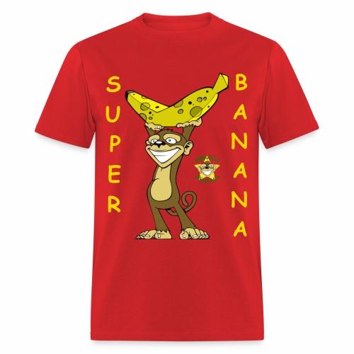 Monkey Pickles Super Banana - Men's T-Shirt