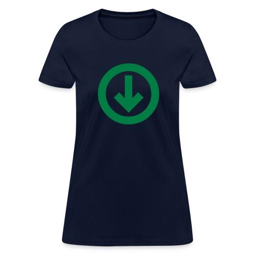 below the influence womens - Women's T-Shirt