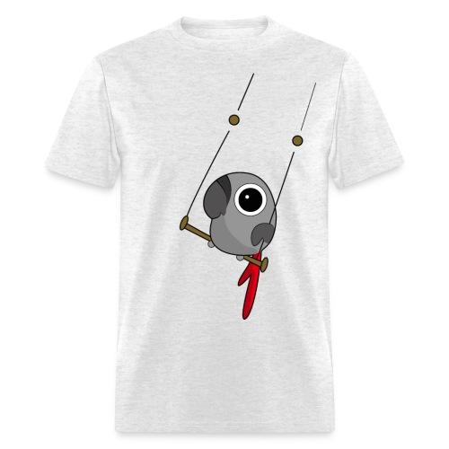 Parrot Shirt Grey - Men's T-Shirt