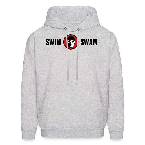 SwimSwam Classic Men's Hoodie (Grey) - Men's Hoodie