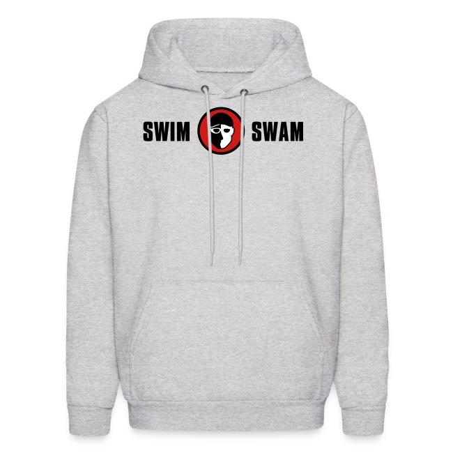 SwimSwam Classic Men's Hoodie (Grey)