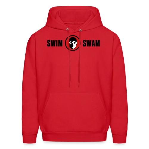 SwimSwam Classic Men's Hoodie (Red) - Men's Hoodie