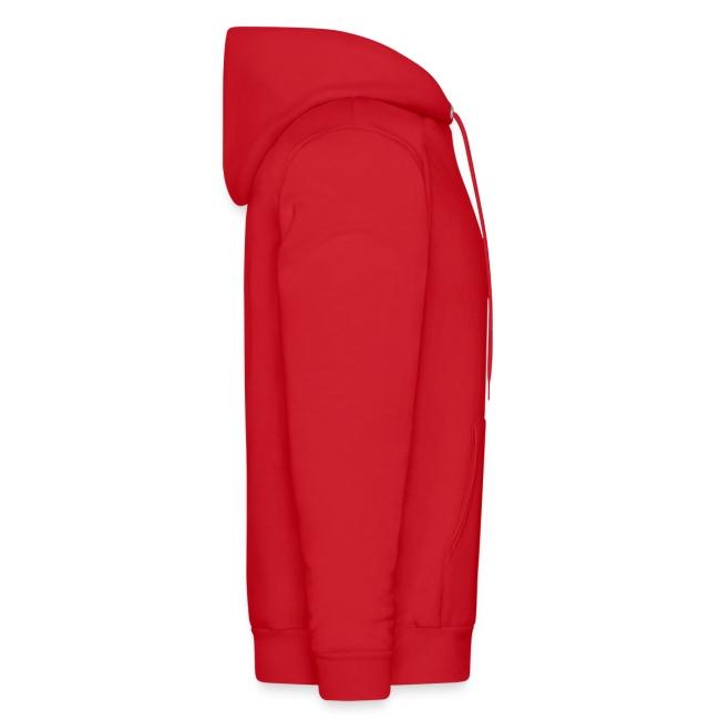 SwimSwam Classic Men's Hoodie (Red)