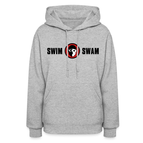 SwimSwam Classic Women's Hoodie (Grey) - Women's Hoodie