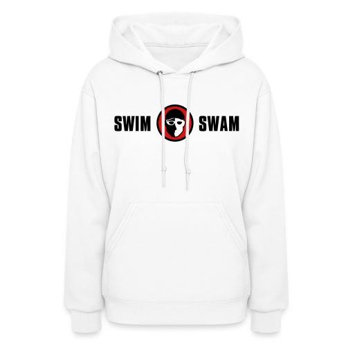 SwimSwam Classic Women's Hoodie (White) - Women's Hoodie