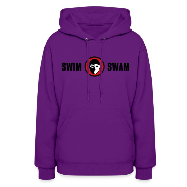 SwimSwam Classic Women's Hoodie (Red)