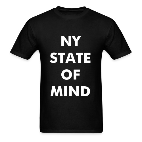 NY STATE OF MIND T-Shirt - Men's T-Shirt
