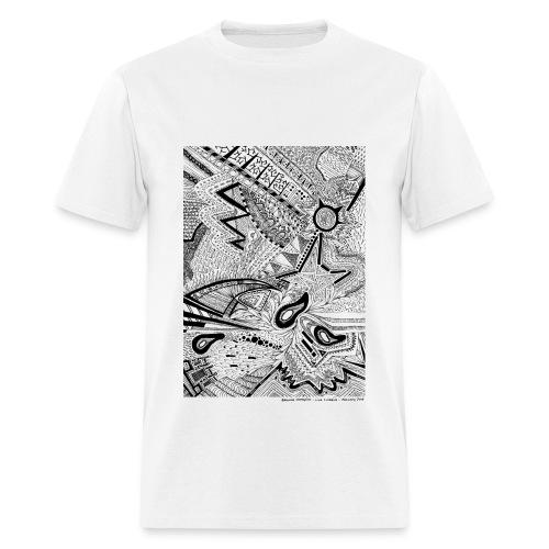 January Line Lullabies - Men's T-Shirt