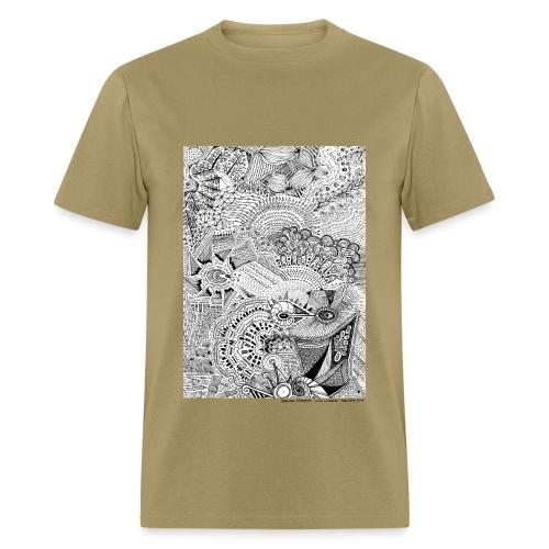 February Line Lullabies - Men's T-Shirt