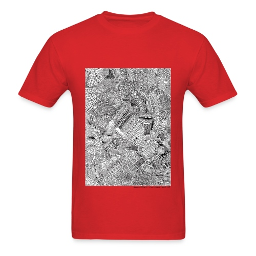 March Line Lullabies - Men's T-Shirt