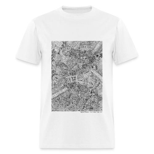April Line Lullabies - Men's T-Shirt