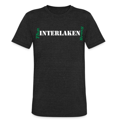 Interlaken t-shirt (men) - Unisex Tri-Blend T-Shirt