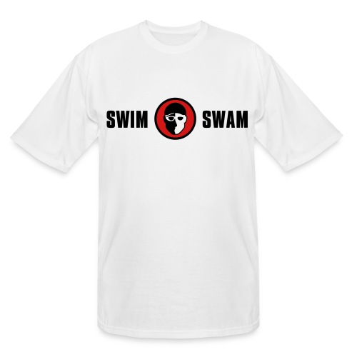 SwimSwam Classic Men's Tall Tee (White) - Men's Tall T-Shirt