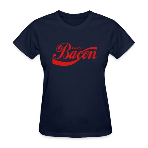 enjoy bacon mens - Women's T-Shirt