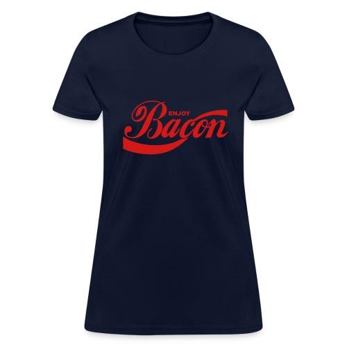enjoy bacon mens - Women's T-Shirt