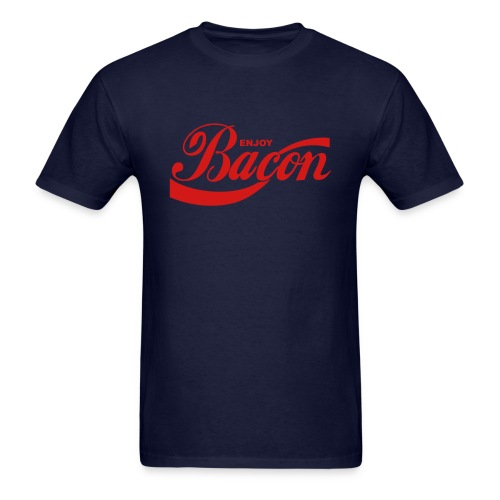 enjoy bacon mens - Men's T-Shirt