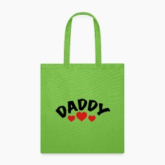 Daddy / i love my dad / father 2c Bags & backpacks
