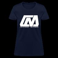 T-Shirts ~ Women's T-Shirt ~ Cali Move Front white women