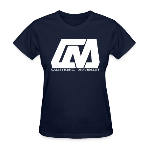 Cali Move Front white women - Women's T-Shirt