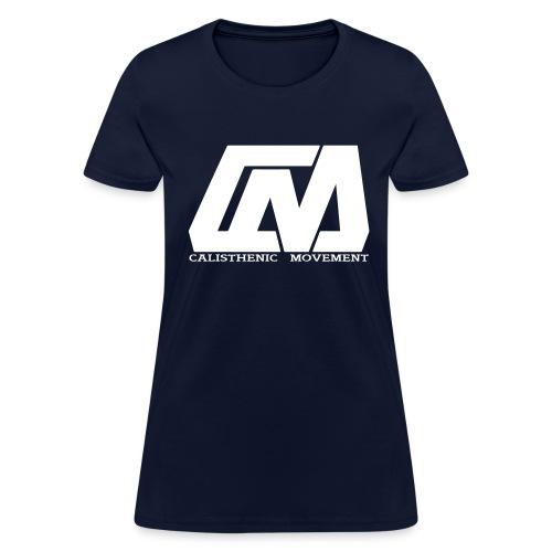 Cali Move Front white women - Women's T-Shirt