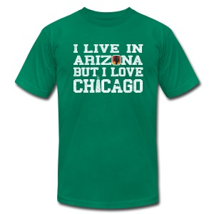 Live Arizona Love Chicago - Men's T-Shirt by American Apparel