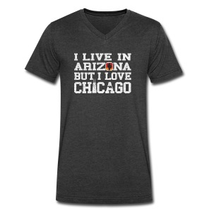 Live Arizona Love Chicago - Men's V-Neck T-Shirt by Canvas
