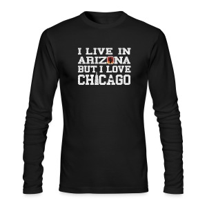 Live Arizona Love Chicago - Men's Long Sleeve T-Shirt by Next Level