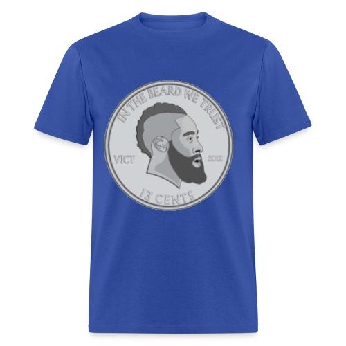 In the Beard We Trust - Men's T-Shirt