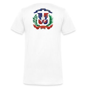 NO SEAS MMG / IM DOMINICAN AND WHAT  - Men's V-Neck T-Shirt by Canvas