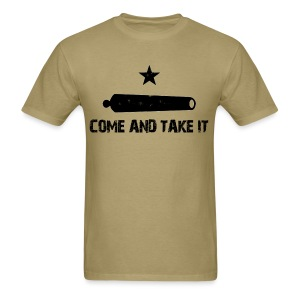 Come and Take It Canon - Men's T-Shirt