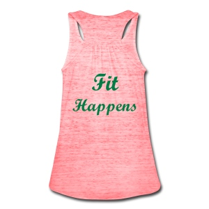 Shh...Fit Happens Tank Top - Women's Flowy Tank Top by Bella