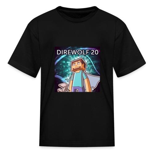 Kids Direwolf20 Avatar - Kids' T-Shirt