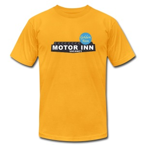 Golden Rim Motor Inn - Men's T-Shirt by American Apparel