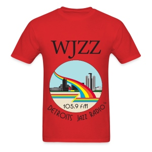 ON SALE!  WJZZ logo - Red Baron - Men's T-Shirt