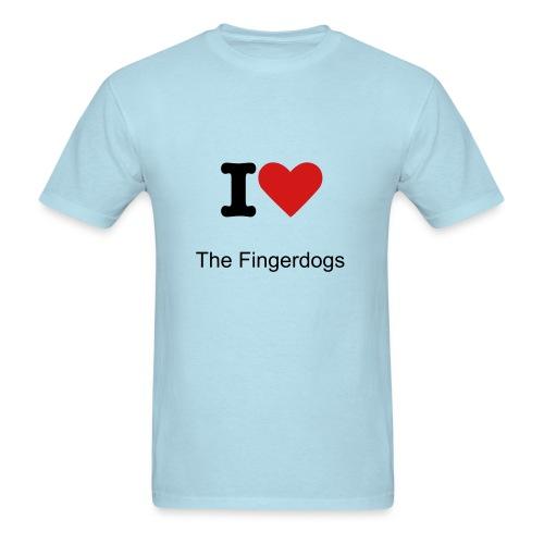 I Love The Fingerdogs! - Men's T-Shirt