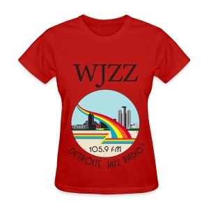 ON SALE!  WJZZ logo -  Red Baron - Women's T-Shirt
