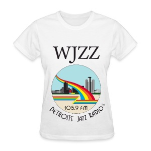 ON SALE!  WJZZ logo -  Peter White - Women's T-Shirt