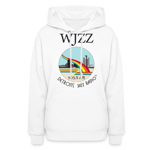 ON SALE!  WJZZ logo - Peter White - Women's Hoodie