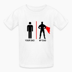 your dad, my dad (kids) Kids' Shirts