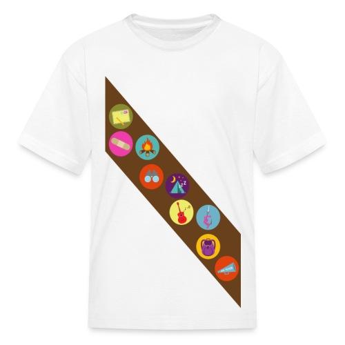 Kids Camp Badges T-Shirt - Kids' T-Shirt