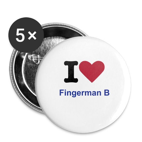 Fingerman B Buttons - Large Buttons